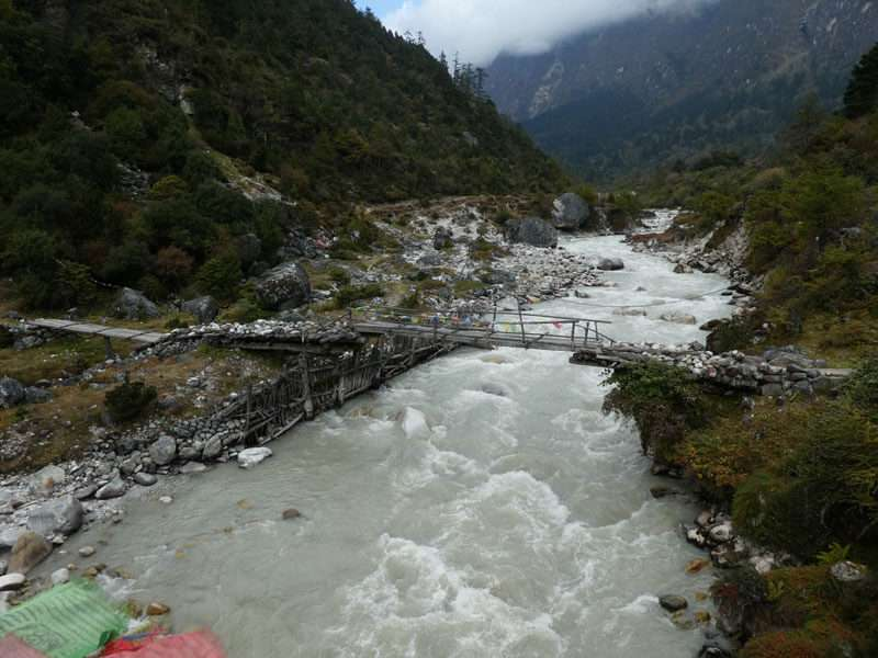 Log Bridge at Kanchenjunga
