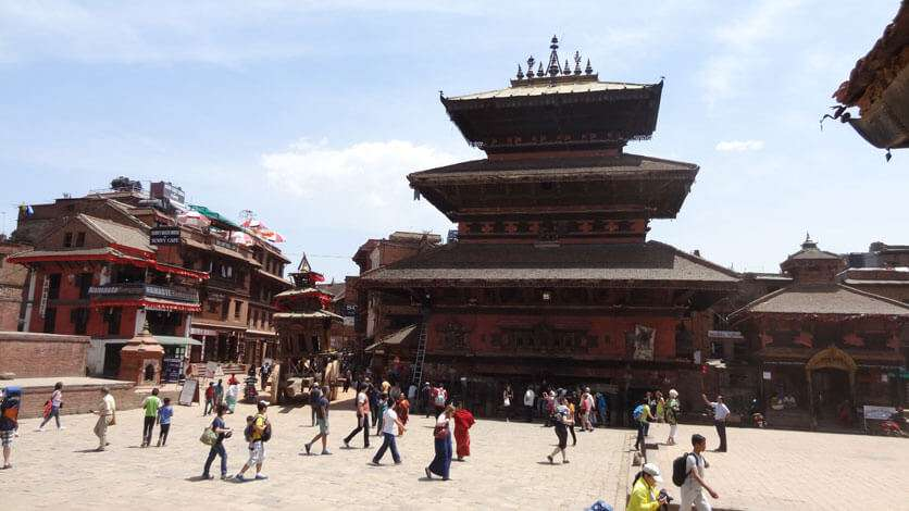 BHairab Temple at Bhaktapur