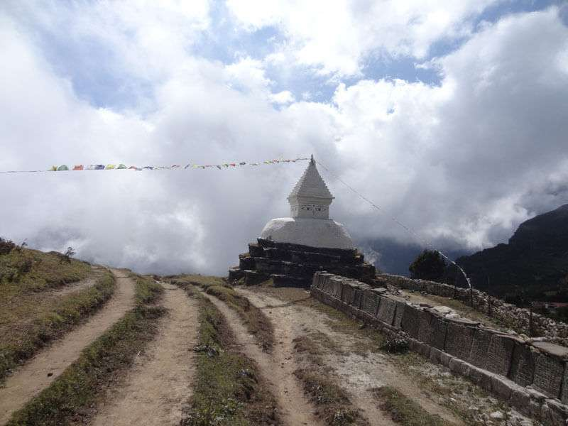 Buddhist Stupa at Khumjung