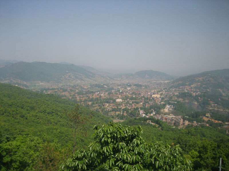 View of Dhulikhel