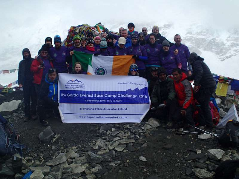 IPA Group at Everest Base Camp