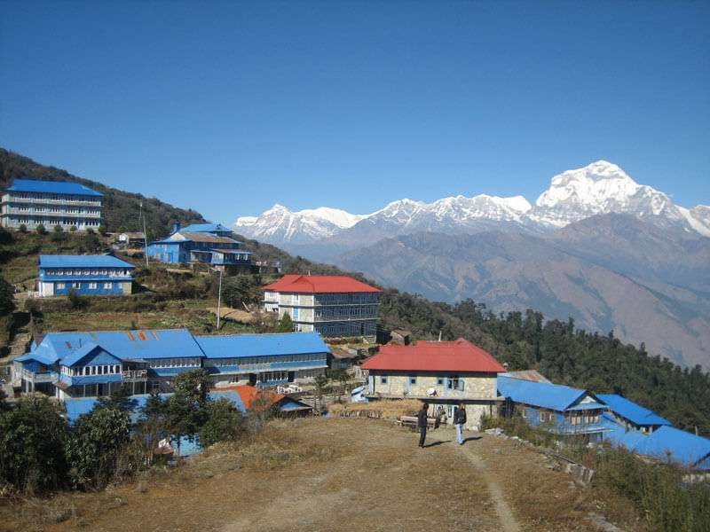 Amazing View of Ghorepani