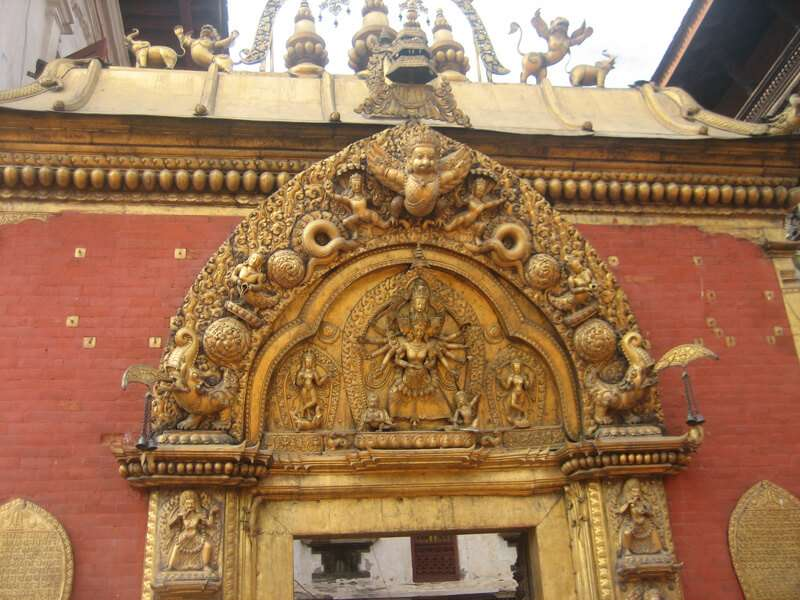 Golden Gate at Bhaktapur Durbar
