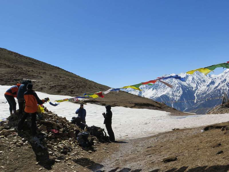 Trail to Mt. Kailash & Mansarover