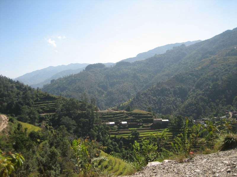 Landscape During Kathmandu Valley Trek