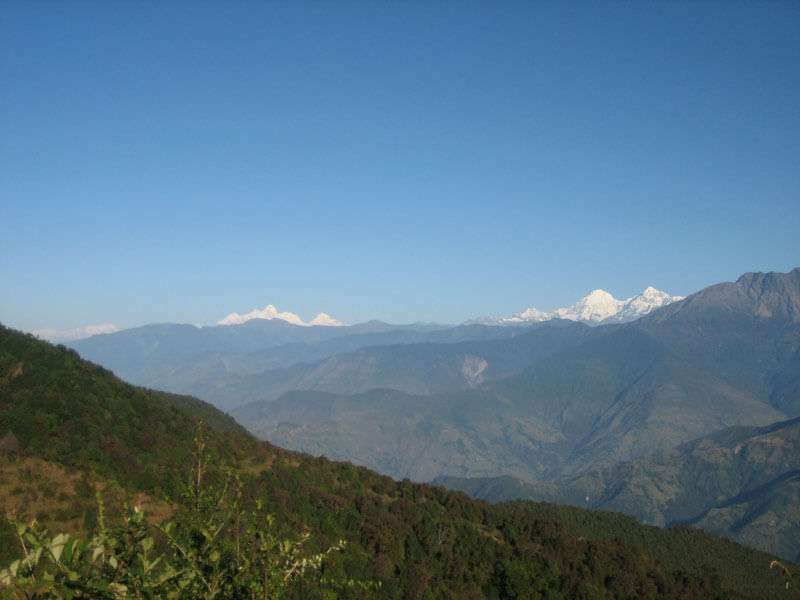 Scenery during Kathmandu Valley Trek
