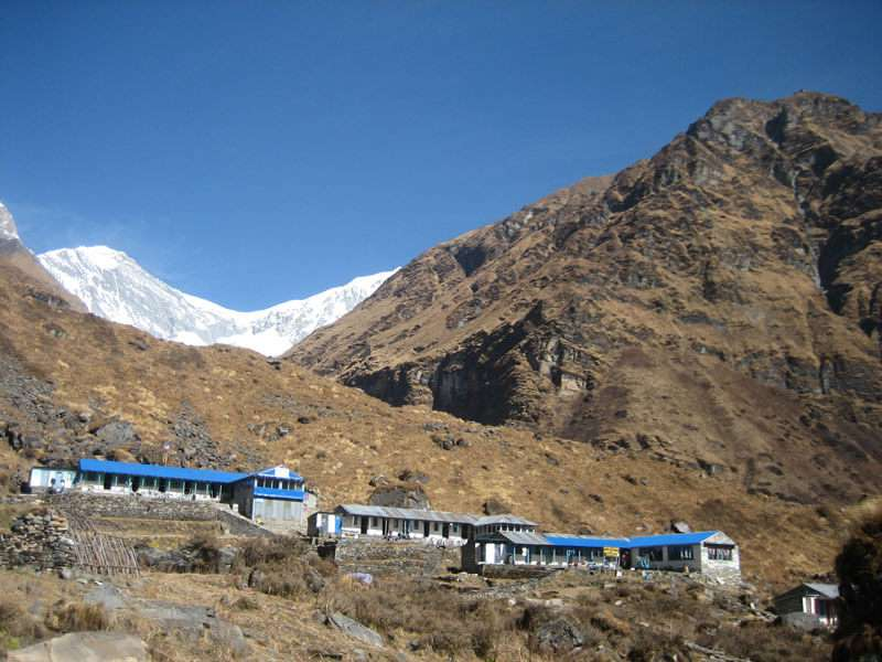Machhapuchre Base Camp