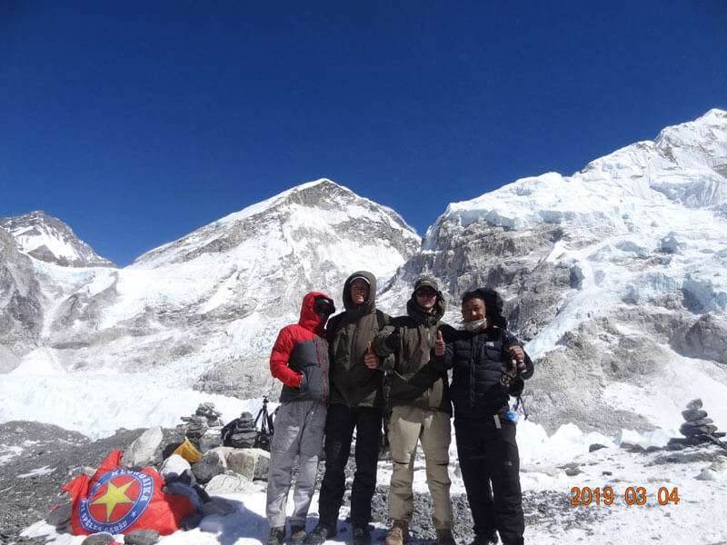 Mt. Everest Base Camp (5,360m)