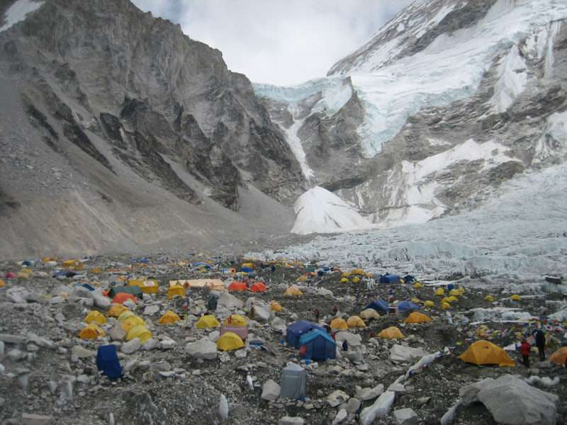Mt. Everest Base Camp (5,160m)