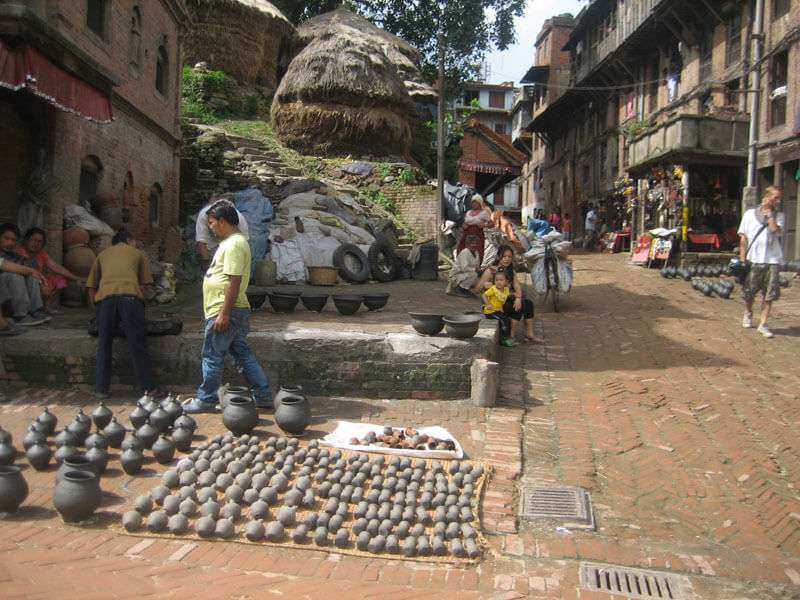 Pottery at Bhaktapur