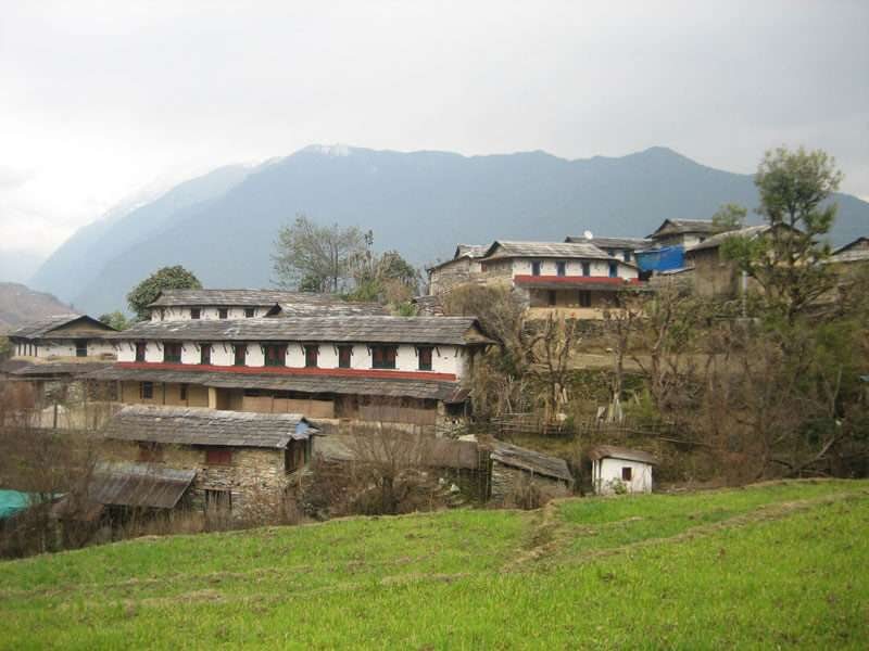 Traditiobal House at Ghandruk