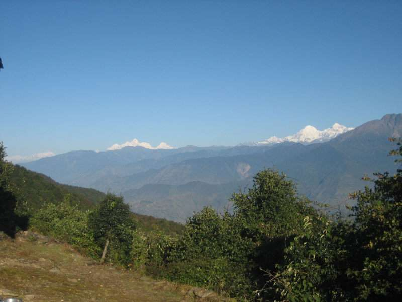 Mountain Scenery from Nagarkot