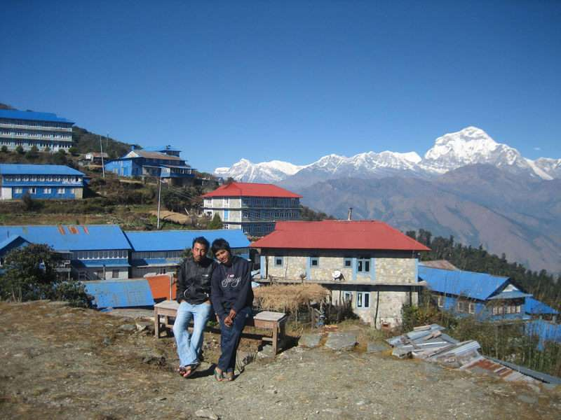 Amazing Scenery at Ghorepani