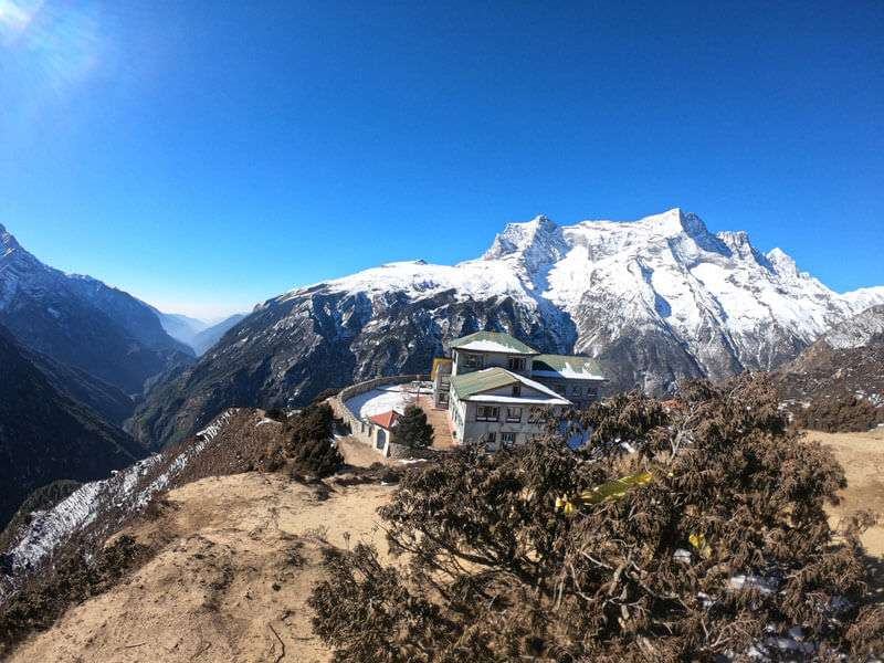View from syangbuche