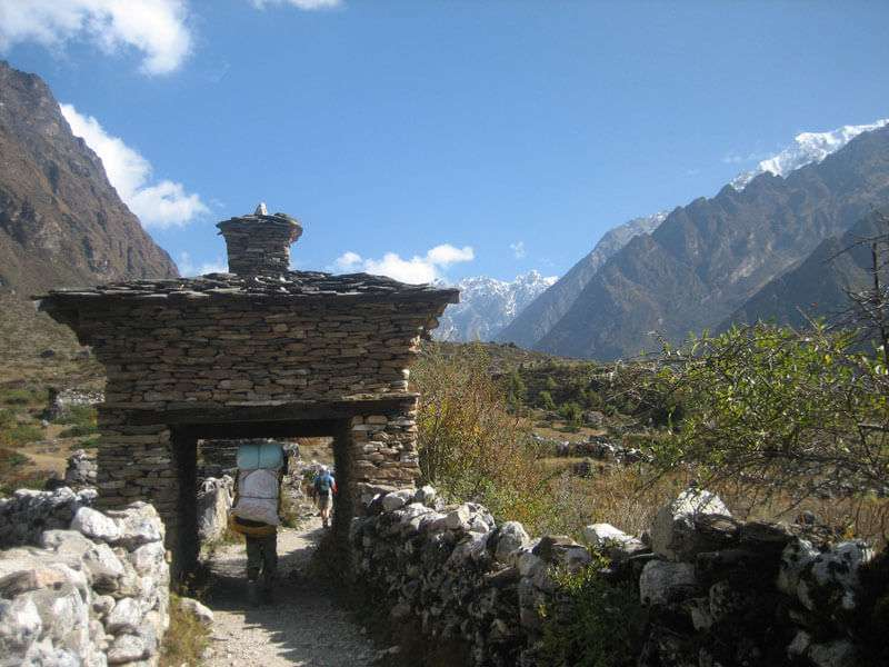 Chorten at tsum Valley