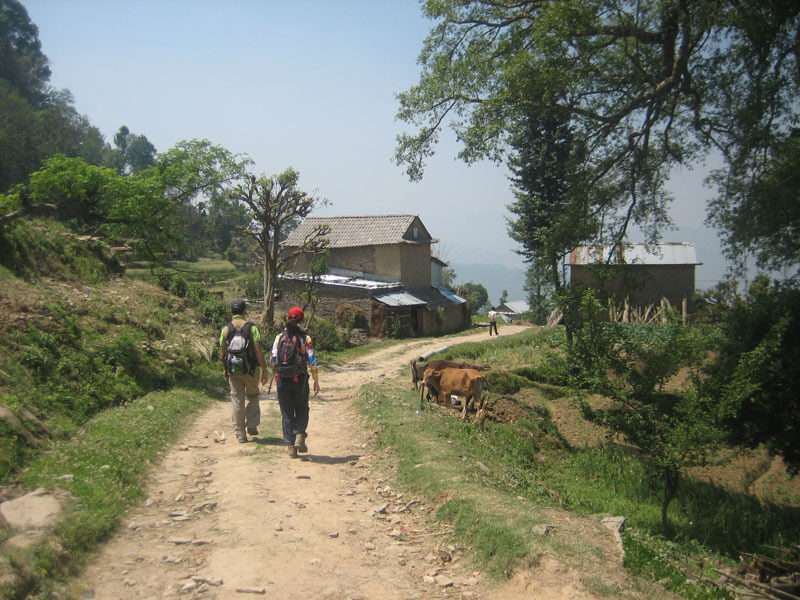 Hike to Dhulikhel